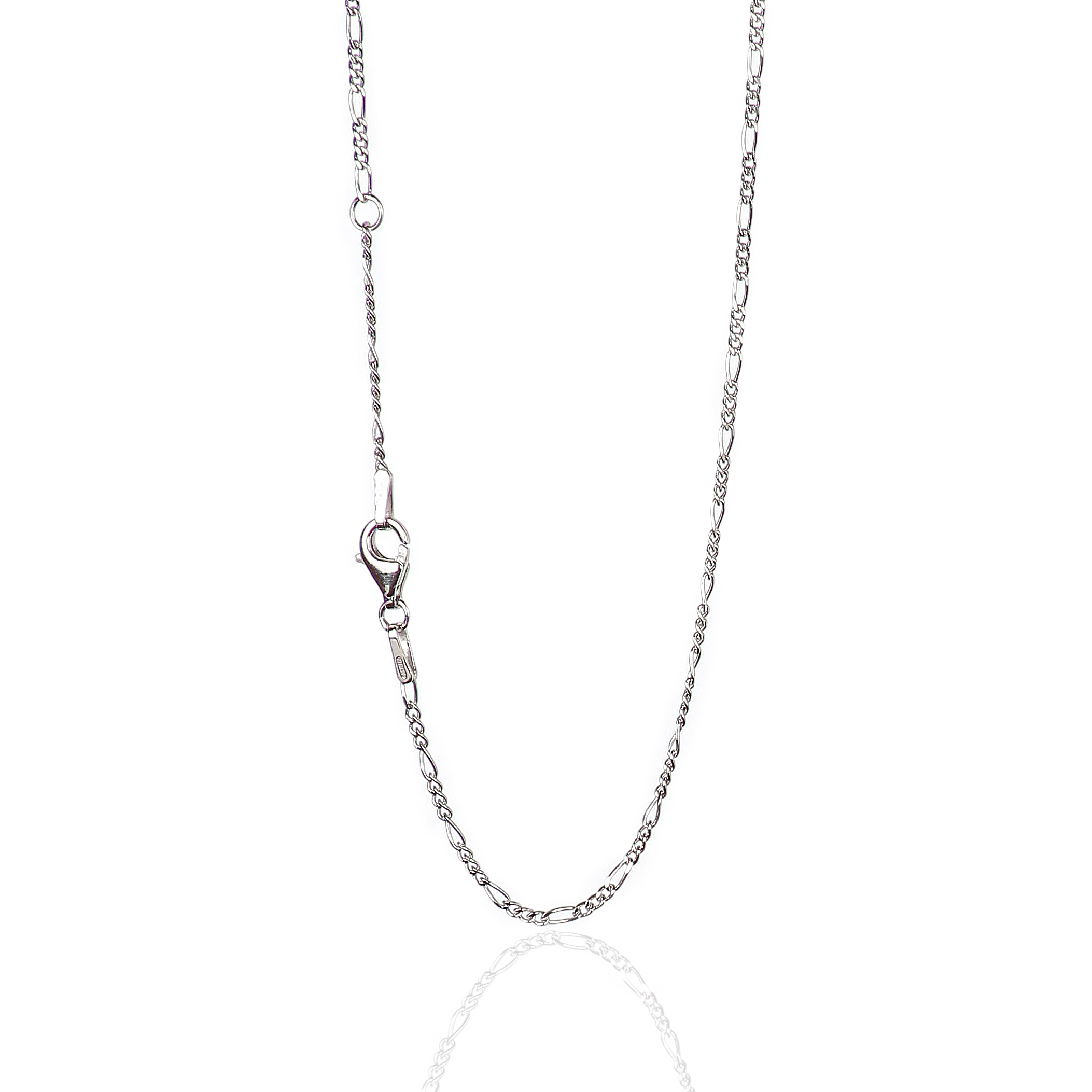 Chains .925 Sterling Silver 1.50MM Diamond-Cut Spiga Link