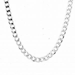 cuban curb diamond cut neck man