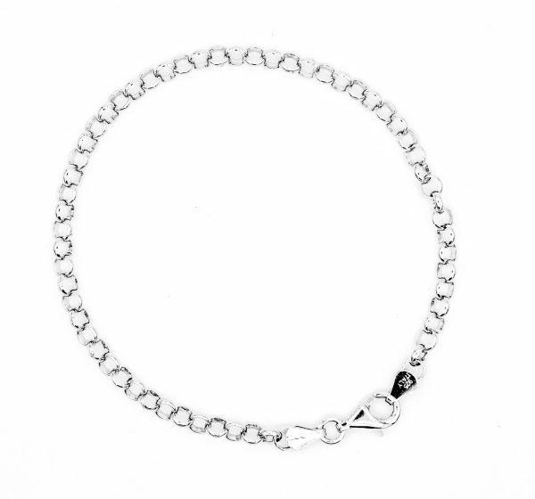 rolo chain bracelet