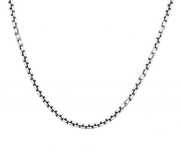 ound box chain necklace man