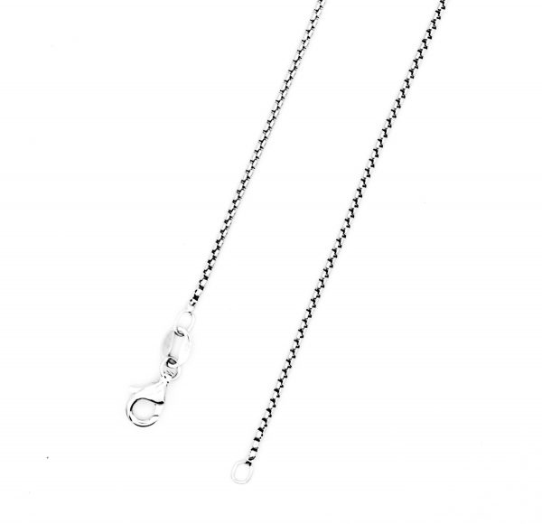 ound box chain necklace woman