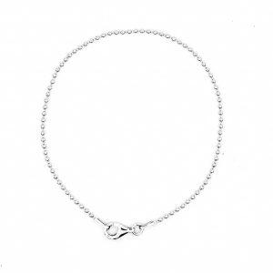 smooth bead chain bracelet