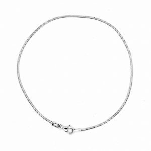 round smooth snake chain bracelet